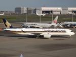 FT51ANさんが、羽田空港で撮影したシンガポール航空 A350-941XWBの航空フォト(写真)