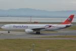 Cherry blossoms さんが、関西国際空港で撮影したトランスアジア航空 A330-343Xの航空フォト(写真)