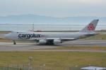 Cherry blossoms さんが、関西国際空港で撮影したカーゴルクス・イタリア 747-4R7F/SCDの航空フォト(写真)