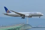 Cherry blossoms さんが、関西国際空港で撮影したユナイテッド航空 787-8 Dreamlinerの航空フォト(飛行機 写真・画像)