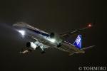 遠森一郎さんが、福岡空港で撮影した全日空 A321-272Nの航空フォト(写真)