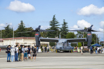 SGR RT 改さんが、横田基地で撮影したアメリカ空軍 CV-22Bの航空フォト(写真)
