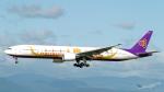 うみBOSEさんが、新千歳空港で撮影したタイ国際航空 777-3D7の航空フォト(写真)