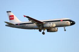 TIA spotterさんが、ロンドン・ヒースロー空港で撮影したブリティッシュ・エアウェイズ A319-131の航空フォト(飛行機 写真・画像)