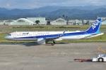 るかぬすさんが、小松空港で撮影した全日空 A321-272Nの航空フォト(写真)