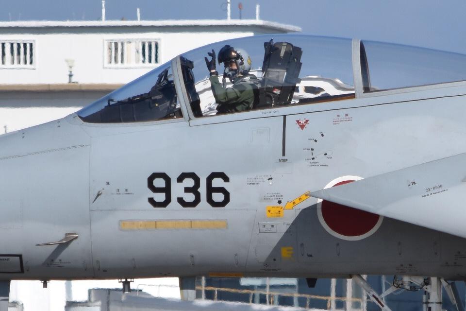 るかぬすさんの航空自衛隊 Mitsubishi F-15J Eagle (22-8936) 航空フォト