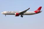 Tia spotterさんが、ロンドン・ヒースロー空港で撮影したヴァージン・アトランティック航空 A330-343Xの航空フォト(写真)
