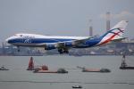 Tia spotterさんが、香港国際空港で撮影したカーゴロジックエア 747-428F/ER/SCDの航空フォト(写真)