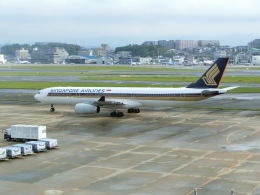 Blue605Aさんが、福岡空港で撮影したシンガポール航空 A330-343Xの航空フォト(飛行機 写真・画像)