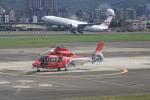 けいとパパさんが、台北松山空港で撮影した中華民国内政部空勤総隊 AS365/565 Dauphin 2/Pantherの航空フォト(写真)