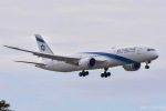 ぱん_くまさんが、成田国際空港で撮影したエル・アル航空 787-9の航空フォト(写真)