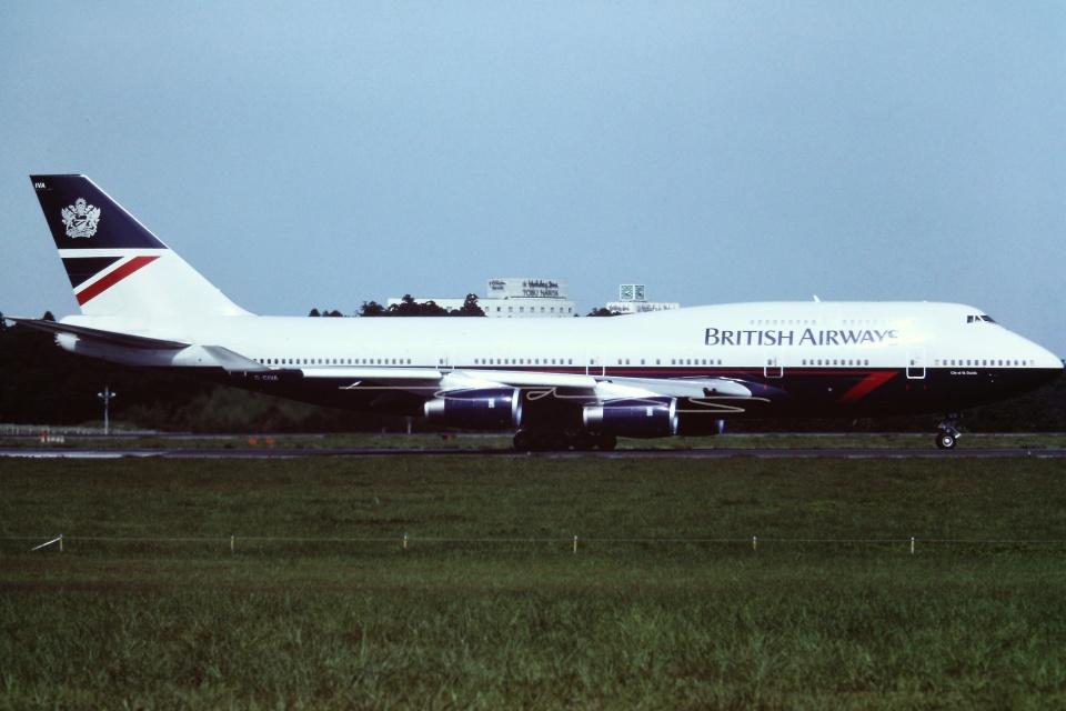 tassさんのブリティッシュ・エアウェイズ Boeing 747-400 (G-CIVA) 航空フォト