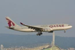 Cherry blossoms さんが、関西国際空港で撮影したカタール航空 A330-202の航空フォト(飛行機 写真・画像)