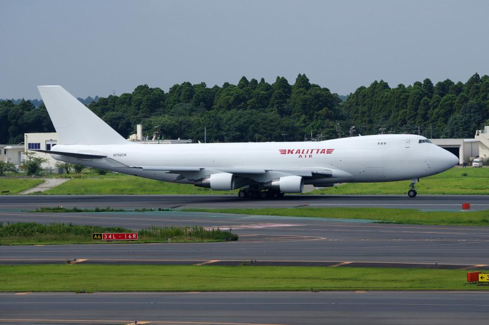 apphgさんのカリッタ エア Boeing 747-400 (N702CK) 航空フォト
