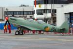 Gambardierさんが、アントワープ国際空港で撮影した不明 509 Spitfire T9Cの航空フォト(写真)