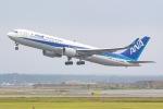 KAMIYA JASDFさんが、新千歳空港で撮影した全日空 767-381/ERの航空フォト(写真)