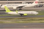 OMAさんが、羽田空港で撮影したソラシド エア 737-81Dの航空フォト(飛行機 写真・画像)