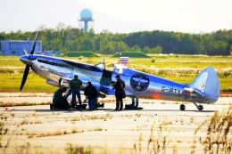 hidetsuguさんが、新千歳空港で撮影したイギリス企業所有 361 Spitfire LF9Cの航空フォト(飛行機 写真・画像)
