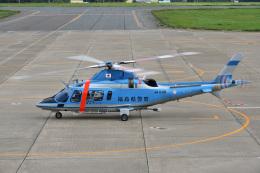 Cスマイルさんが、花巻空港で撮影した福島県警察 A109E Powerの航空フォト(飛行機 写真・画像)