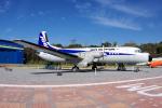 yabyanさんが、かかみがはら航空宇宙科学博物館で撮影したエアーニッポン YS-11A-213の航空フォト(飛行機 写真・画像)