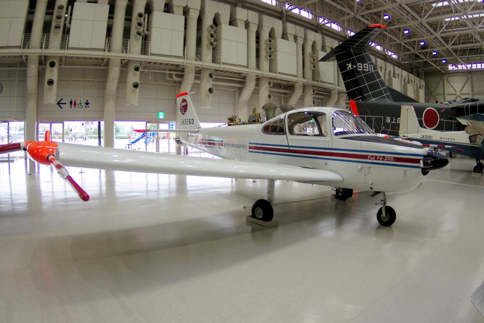 yabyanさんの航空宇宙技術研究所 Fuji FA-200 Aero Subaru (JA3263) 航空フォト