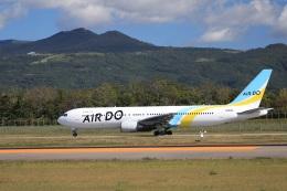 Tomochanさんが、函館空港で撮影したAIR DO 767-381/ERの航空フォト(飛行機 写真・画像)