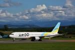 にしやんさんが、旭川空港で撮影したAIR DO 767-33A/ERの航空フォト(写真)