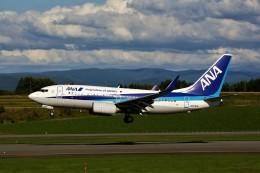 にしやんさんが、旭川空港で撮影した全日空 737-781の航空フォト(飛行機 写真・画像)