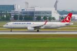 PASSENGERさんが、ミュンヘン・フランツヨーゼフシュトラウス空港で撮影したターキッシュ・エアラインズ A321-231の航空フォト(写真)