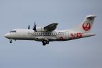 徳兵衛さんが、伊丹空港で撮影した日本エアコミューター ATR-42-600の航空フォト(写真)