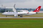 PASSENGERさんが、ミュンヘン・フランツヨーゼフシュトラウス空港で撮影したターキッシュ・エアラインズ A330-223の航空フォト(写真)