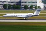 PASSENGERさんが、ミュンヘン・フランツヨーゼフシュトラウス空港で撮影したアメリカ個人所有 G500/G550 (G-V)の航空フォト(写真)