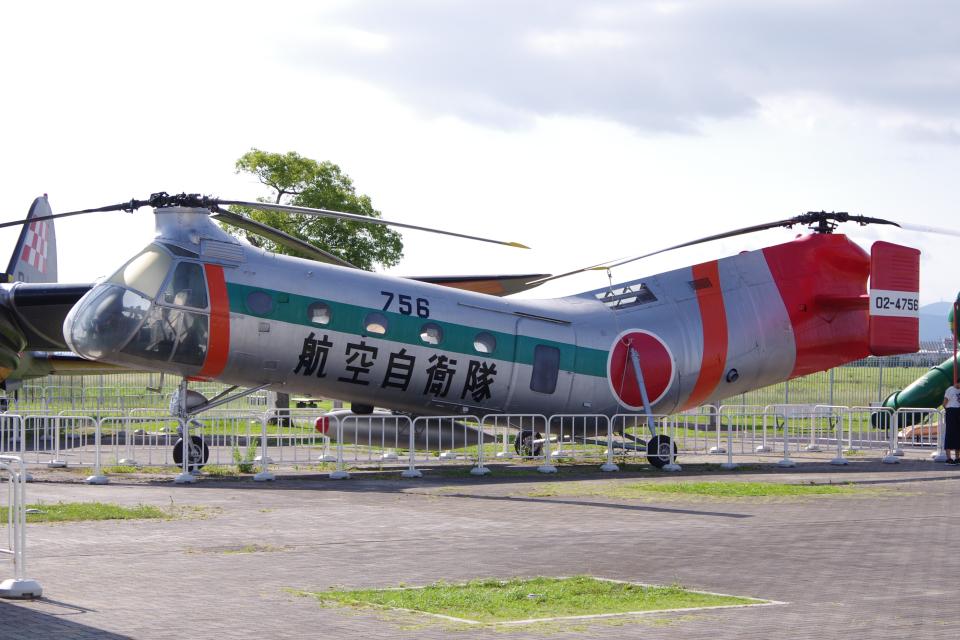 yabyanさんの航空自衛隊 Piasecki H-21 (02-4756) 航空フォト