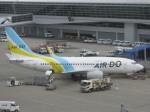 くまのんさんが、中部国際空港で撮影したAIR DO 737-781の航空フォト(写真)