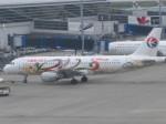 くまのんさんが、中部国際空港で撮影した中国東方航空 A320-214の航空フォト(飛行機 写真・画像)