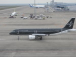 くまのんさんが、中部国際空港で撮影したスターフライヤー A320-214の航空フォト(写真)