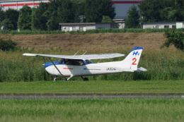 神宮寺ももさんが、ホンダエアポートで撮影した本田航空 172S Skyhawk SPの航空フォト(飛行機 写真・画像)