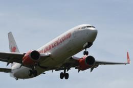 kuro2059さんが、クアラルンプール国際空港で撮影したライオン・エア 737-8GPの航空フォト(飛行機 写真・画像)