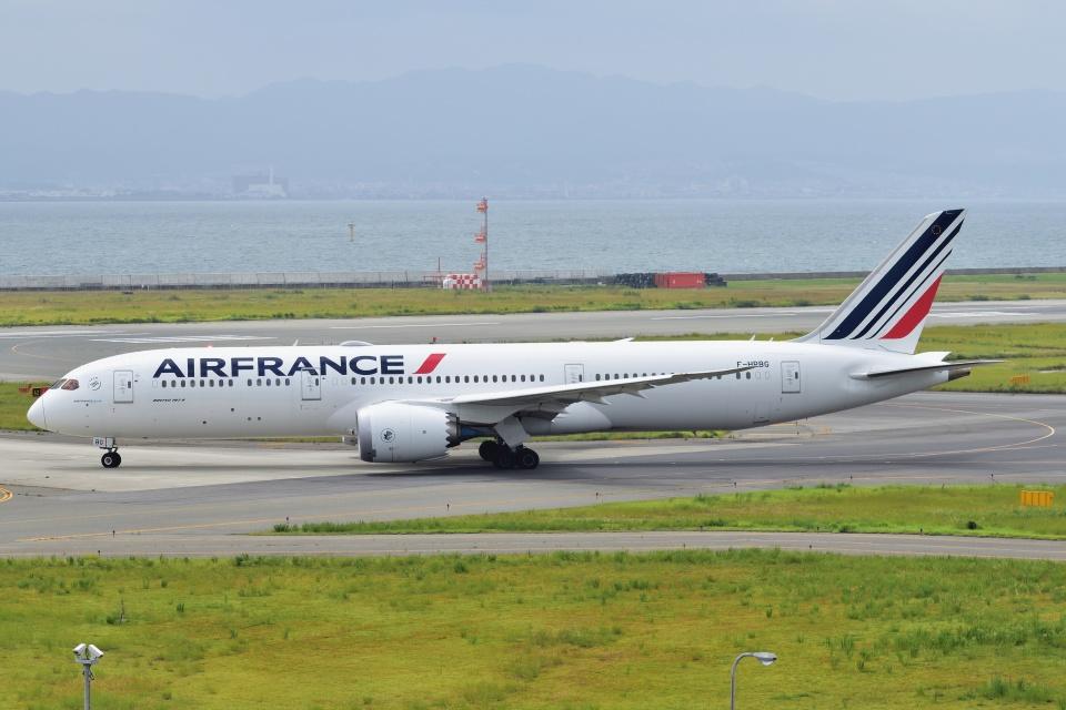 @たかひろさんのエールフランス航空 Boeing 787-9 (F-HRBG) 航空フォト
