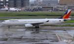 RINA-281さんが、羽田空港で撮影したフィリピン航空 A330-343Xの航空フォト(写真)