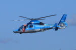 yoshi_350さんが、福岡空港で撮影した福岡県警察 AS365N3 Dauphin 2の航空フォト(写真)