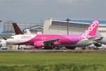 YASKYさんが、成田国際空港で撮影したピーチ A320-214の航空フォト(写真)