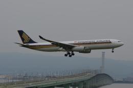 Cherry blossoms さんが、関西国際空港で撮影したシンガポール航空 A330-343Xの航空フォト(飛行機 写真・画像)