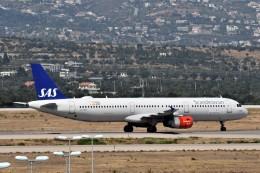 k-spotterさんが、エレフテリオス・ヴェニゼロス国際空港で撮影したスカンジナビア航空 A321-231の航空フォト(飛行機 写真・画像)