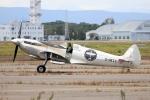 北の熊さんが、新千歳空港で撮影したBOULTBEE FLIGHT ACADEMY LTD 361 Spitfire LF9Cの航空フォト(飛行機 写真・画像)