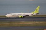 OMAさんが、羽田空港で撮影したソラシド エア 737-86Nの航空フォト(飛行機 写真・画像)