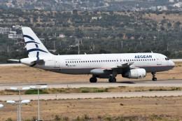 k-spotterさんが、エレフテリオス・ヴェニゼロス国際空港で撮影したエーゲ航空 A320-232の航空フォト(飛行機 写真・画像)