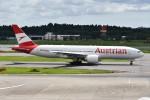 k-spotterさんが、成田国際空港で撮影したオーストリア航空 777-2Z9/ERの航空フォト(写真)