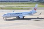 ゆう改めてさんが、福岡空港で撮影した日本トランスオーシャン航空 737-8Q3の航空フォト(写真)