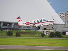 ここはどこ?さんが、札幌飛行場で撮影したジェイピーエー A36 Bonanza 36の航空フォト(飛行機 写真・画像)